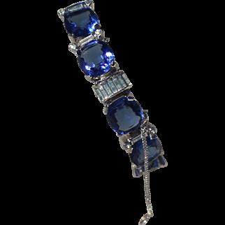 Jomaz Art Deco Link Bracelet