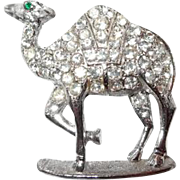 Paved Rhinestone Camel Pin Designed by Ora