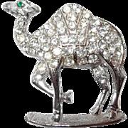 Paved Rhinestone Camel Pin Designed by Ora