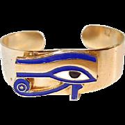 Egyptian Eye of Ra Cuff Bracelet