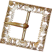 BLOWOUT SALE: Intricate Victorian Belt Buckle
