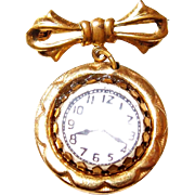 Childs Lapel Watch Pin