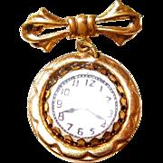 Childs Lapel Watch Pin