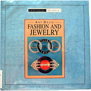 Book Reference Guide Art Deco Fashion Jewelry 100 Colored Illustrations