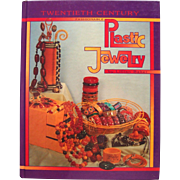 Vintage Collecting Reference Guide Twentieth Century Plastic Jewelry Hard Cover Book - Red Tag Sale Item