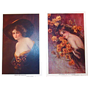 Philip Boileau Series 109 with Touched Up Artwork - Signed Postcard Lot