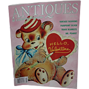 Antique and Collecting Magazine Featuring Valentine