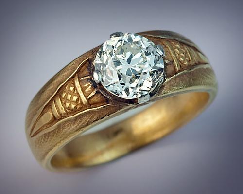 Men S Ring Faberge