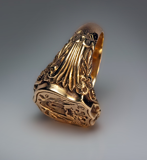 Antique gold rings for men