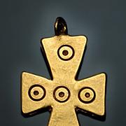 Byzantine Medieval Pectoral Cross Pendant