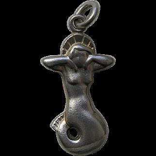Georg Jensen Mermaid Sterling Charm