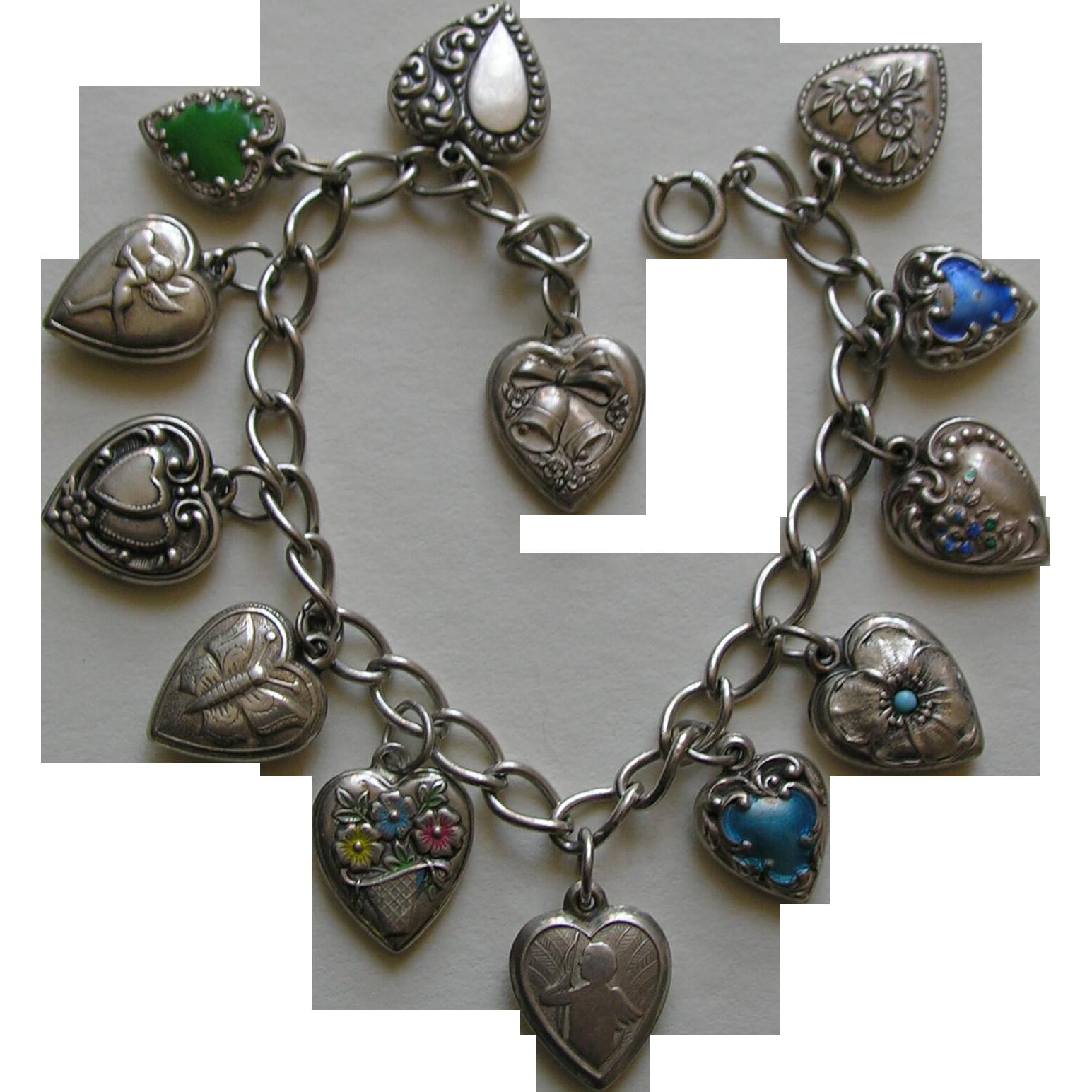 Vintage Heart Bracelet 117