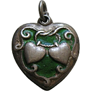 Walter Lampl Lasso My Heart Enameled Sterling Heart Charm
