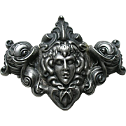 Unger Medusa Sea Creature Sterling Buckle