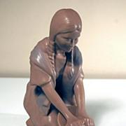 Van Briggle Pottery Hopi Maiden Figure
