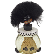 Vintage Golliwog Perfume Bottle with Labels