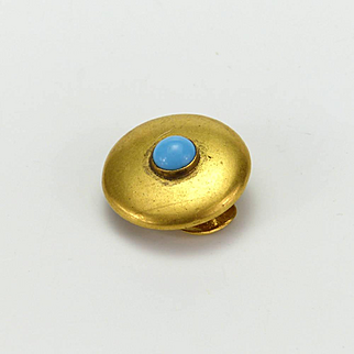 Gold Plated Stud Button