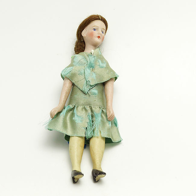 Dollhouse Miniatures Victoria Bc: Unusual Bisque Head Doll House Doll From Vininghill On