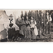 Two Interesting Late 19th/Early 20th Century Photos First Nations
