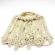 Unusual Vintage Costume Pearl Handbag/Purse