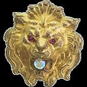 Vintage Lion Costume Doll Accessory