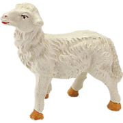 Vintage Composition Sheep Possibly Elastolin