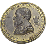 1873 Medallion Prince of Wales Fine Art Exhibition