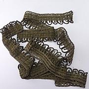 Vintage Length of Gold Thread Trim