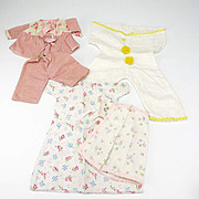 Ten Pieces of Flannel Doll Clothing