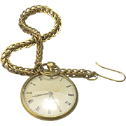 Lovely French Watch on Chain Doll Accessory