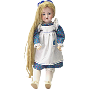 Antique Bisque Doll M. Bergmann 1916