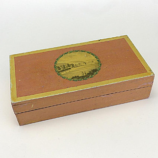 Early 19th Century Sewing box