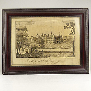 Antique Georgian Embroidery of Burghley House