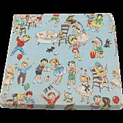 Vintage Handkerchief Box with Walt Disney Hankies