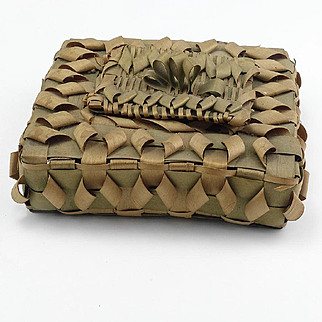 Vintage Native American Splint Basket
