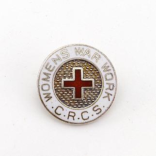 Vintage Medal Women's War Work