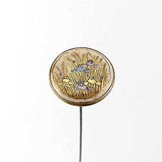 Vintage Satsuma Hat Pin