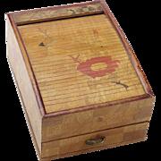Vintage Inlaid Japanese Box
