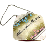 Antique Mother of Pearl Doll Purse