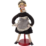 Lovely Vintage composition Maid Doll