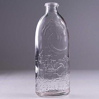 Vintage Nursery Rhyme Baby Bottle