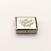 Vintage Tiny Razor Doll Accessory