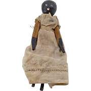 Small African American Penny Wooden Doll