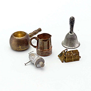 Group of Dollhouse Miniatures