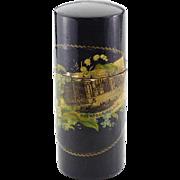 Fernware/Mauchline Ware Container