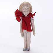 Tiny White Bisque Doll