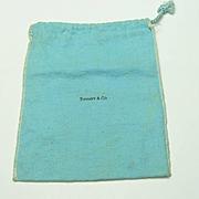 Vintage Tiffany Flannel Bag