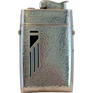 Vintage Evans Cigarette Lighter-Case Combination 1950's