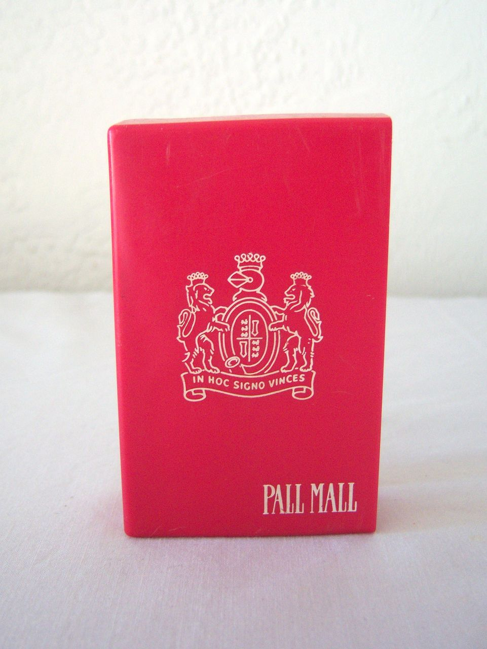Pall Mall Cigarette Plastic Pack Protector