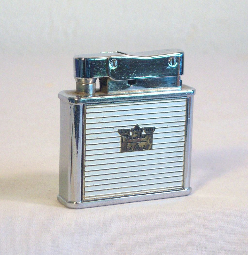 Vintage COLVAIR Slide-O-Matic Pocket Lighter Japan 1950's